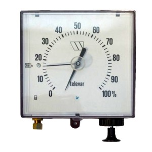 Remote tank gauge Hydrostatic contents gauge