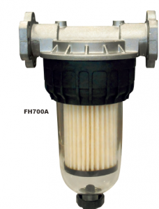 Water Tech Fuel Filter :: Water and particle removal