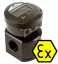 "MX09S-Ex Solvent Flow Meter :: 1/4"" Ports, 15 - 500L/Hr, 69bar (1000psi)"